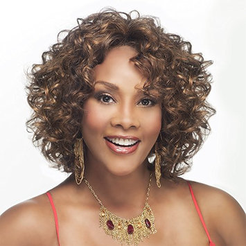 CHILLI-V (Vivica A. Fox) - Synthetic Lace Front Wig in OFF BLACK (Color 1B)