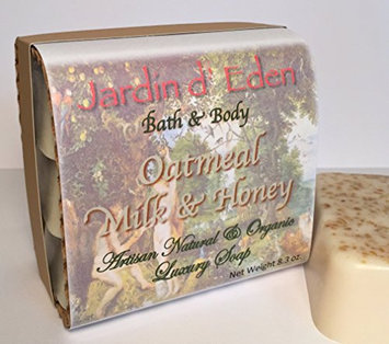 Oatmeal Milk & Honey Bar Soap - 3-pack