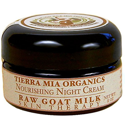 Tierra Mia Organics Raw Goat Milk Skin Therapy Nourishing Night Cream