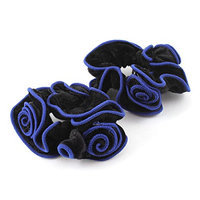 Uxcell 2 Piece Flower Shaped Hairband Ponytail Holder Hair Tie
