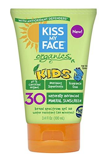 Kiss My Face Kids Mineral SPF 30 Natural Organic Sunscreen