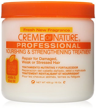 Creme of Nature Nourishing and Strengthening Treatment with Jojoba and Olive Oil