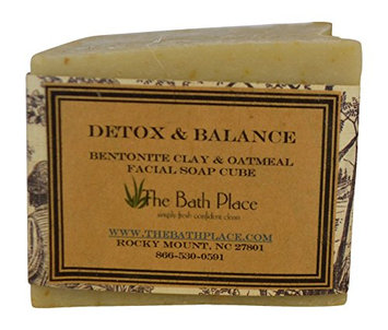 Detox & Balance Handcrafted Soap w. Bentonite Clay and Oatmeal