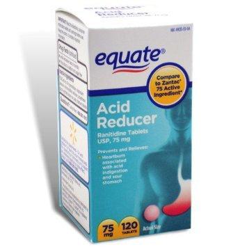 Equate Acid Reducer Non-Prescription Strength Ranitidine