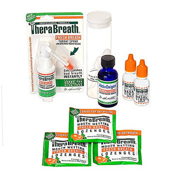 TheraBreath Dentist Recommended Tonsil Stones (Tonsilloliths) Treatment Kit Guaranteed to help dissolve your tonsil stones or your money back