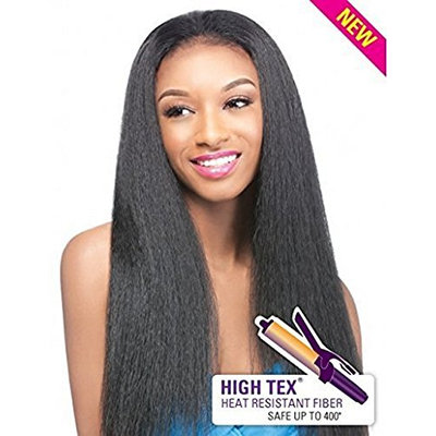 Outre Synthetic Hair Half Wig Quick Weave Annie (1B)