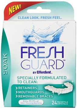 Fresh Guard Soak Specially Formulated for Retainers Mouthguards and Removable Braces