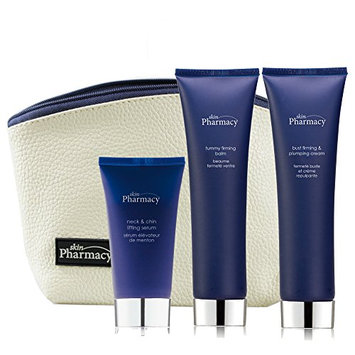 Skin Pharmacy Bag Set Neck and Chin Lifting Serum
