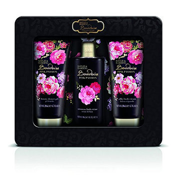 Baylis and Harding Boudoire Velvet Rose Tin of Treats Set