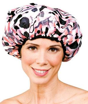 Betty Dain Betty Dain Stylish Design Terry Lined Shower Cap