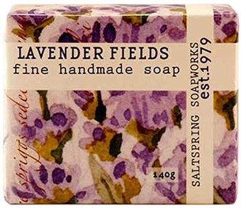 Saltspring Soapworks All Natural Botanical Soap Bar