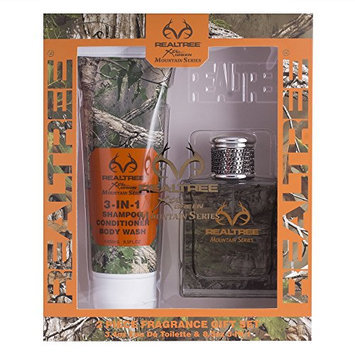 Realtree Mountain Series For Him Gift Set