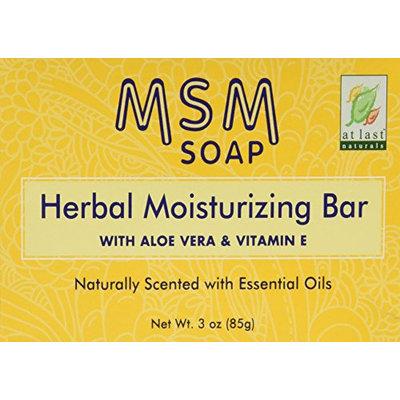 At Last Naturals MSM Herbal Moisturizing Bar 3 oz
