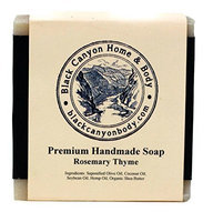 Black Canyon Home and Body Hand Crafted Bar Soap(Rosemary & Thyme)