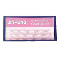 Volume 3D Synthetic Mink Eylashes C Curl .07mm Mixed Size Eyelash Extensions (Assorted 7mm-14mm).
