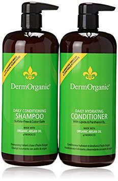 Dermorganic Daily Duo Conditioning Shampoo and Hydrating Conditioner