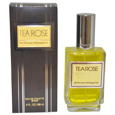 Tea Rose By Perfumers Workshop For Women. Eau De Toilette Spray 2.0 Oz.