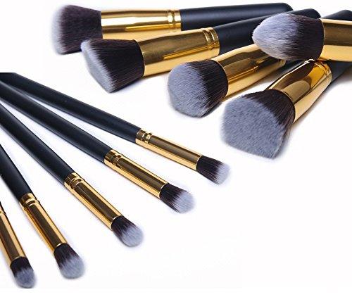 LifePlus Putwo 10 Piece Make Up Brushes