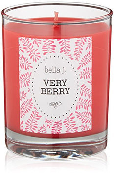 bella j. Very Berry Candle