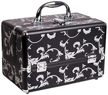 Craft Accents 2-Tiers Expandable Trays Makeup Beauty Case