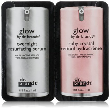 dr. brandt Duo Sample: Glow Resurfacing Serum & Retinol Hydracreme