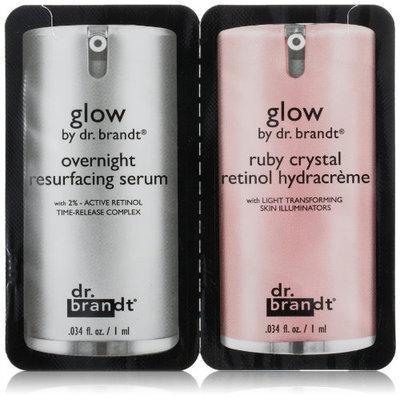 Dr. Brandt® Duo Sample Glow Resurfacing Serum & Retinol Hydracreme