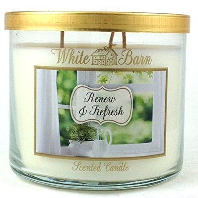 Bath & Body Works® White Barn Renew & Refresh 3-Wick Candle