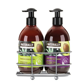 Upper Canada Soap & Candle  Pressed Olive Avocado Caddy Gift Set