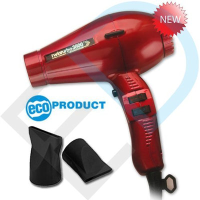 Pibbs TTECO8029 Twin Turbo 3800 Professional Ionic and Ceramic Hair Dryer