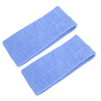 Uxcell 2 Piece Exercises Sport Yoga Face Washing Stretchy Headband