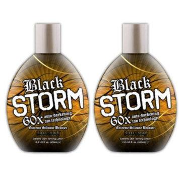 Millenium Tanning Black Storm 60x Bronzer Tanning Lotion