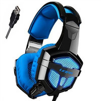 Letton G1 USB Stereo Gaming Headsets with Mic/LED light