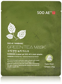Soo Ae Han Bang Green Tea Collagen Mask