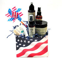 Naturally Pampered Garden Essentials Celebrates America Gift Set Lip and Skin Care