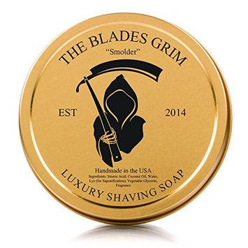 The Blades Grim Gold Luxury Shaving Soap -