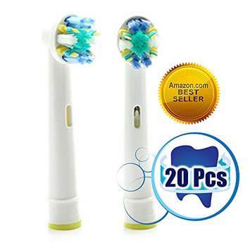 Oralfit Generic Oral B Compatible Replacement Brush Heads Best Alternative for Your Floss Action Braun Electric Toothbrush Extra Strong Clean Feeling Extra Comfort Top Quality