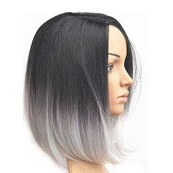 Black/White Ombre Wig