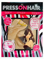 Press On Hair Straight Tape Extensions