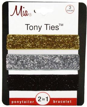 Mia Tony Hair Ties Glitter