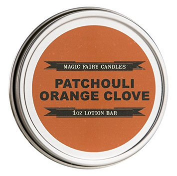 Magic Fairy Candles Patchouli Orange Clove Lotion Bar