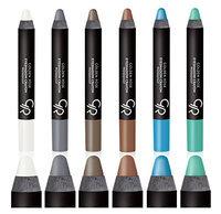 Golden Rose Waterproof Eyeshadow Crayon Set of 6 (Set1)