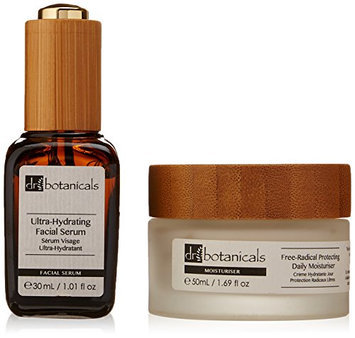 Dr Botanicals Free-Radical Protecting Daily Moisturiser and Ultra Hydrating Facial Serum