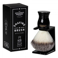 Wild and Wolf Gentlemen's Hardware Apothecary Shaving Brush with Stand
