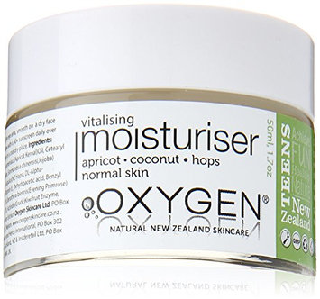 Oxygen Teen Vitalising Moisturiser for All Skin Types