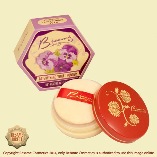 Besame Cosmetics Brightening Powder