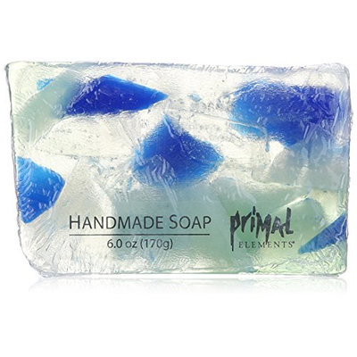 Primal Elements Bar Soap in Shrinkwrap, Beach Glass, 6 Ounce