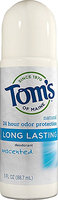 Tom's OF MAINE Natural Deodorant Roll-On Unscented