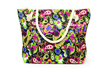 NuPouch Abstract Tote Handbag