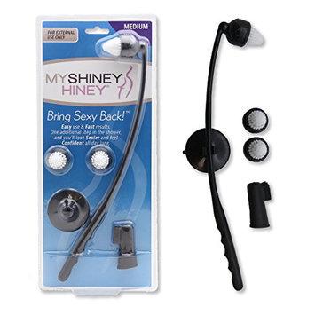 My Shiney Hiney Softer Medium Bristle Personal Cleansing Kit - Black