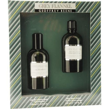 Geoffrey Beene Grey Flannel for Men Eau De Toilette Spray Set